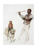 The Entertainer, C.1870 Giclee Print by Charles Green