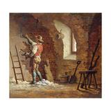 Plasterer, C.1807 Giclee Print by John Cranch