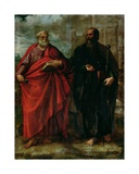 St. Peter and St. Paul, 1577 Giclee Print by Juan Fernandez De Navarrete