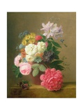 Still Life of Flowers Giclee Print by Arnoldus Bloemers