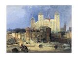 Tower of London Giclee Print by David Roberts