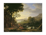Apollo Flaying Marsyas Giclee Print by Claude Lorrain