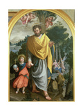 St. Joseph Leading the Infant Christ Giclee Print by Juan Sanchez Cotan
