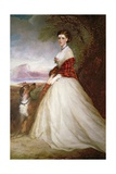 Portrait of Gertrude, Countess of Dunmore Giclee Print by Richard Buckner