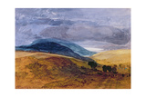 On the Downs Giclee Print by John Sell Cotman