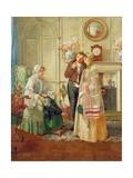 Sweethearts, 1892 Gicleetryck av Walter Dendy Sadler