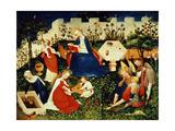 Garden of Paradise, C.1415 Giclee Print by  Master of Oberrheinischer
