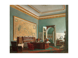 Napoleon III's Study at the Tuileries, 1862 Giclee Print by Fortune de Fournier