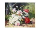 Still Life of Flowers Giclee Print by Eugene Henri Cauchois