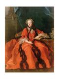Portrait of Maria Leszczynska (1703-68) 1762 Giclee Print by Jean-Marc Nattier