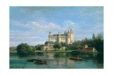 The Chateau De Pierrefonds, 1869 Giclee Print by Pierre Justin Ouvrie