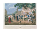 Drawing Lots for Conscription Giclee Print by Hippolyte Lecomte