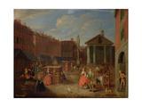 View of Covent Garden Giclée-Druck von Joseph Van Aken