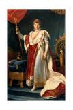 Napoleon Bonaparte (1769-1821) Giclee Print by Francois Pascal Simon, Baron Gerard