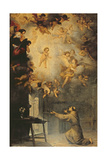 Vision of St. Anthony of Padua (1195-1231) Giclee Print by Bartolome Esteban Murillo
