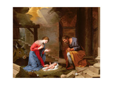 The Nativity, 1639 Giclee Print by Jacques Stella