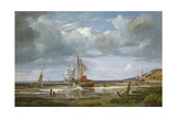 The Elbe at Blankenesee, 1844 Giclee Print by Adolf Vollmer