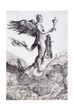 Nemesis (The Great Fortune) Giclee Print by Albrecht Dürer or Duerer