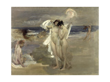 The Bathers Giclee Print by James Jebusa Shannon