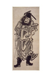 Shoki, the Demon Queller, C.1745 Giclee Print by Okumura Masanobu
