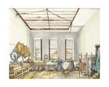 The Laundry at Aynhoe, 23rd February 1847 Giclee Print by Lili Cartwright