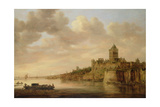 The Valkhof at Nijmegen, 1650 Giclee Print by Aelbert Cuyp