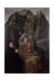 The Virgin of Montserrat Giclee Print by Fray Juan Andres Rizi