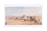 'The Haraam Es Shereef, Jerusalem', 1895 Giclee Print by Carl Haag