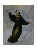 Levitation of St. Francis Giclee Print by Francisco de Zurbaran