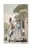 Tristram Shandy, 1786 Gicleetryck av John Nixon
