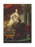 Charles X (1757-1826) in His Coronation Robes Giclee Print by Francois Pascal Simon, Baron Gerard