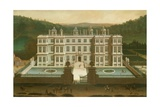 A View of Longleat Giclee Print by Jan Siberechts