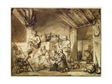 The Adoration of the Shepherds Giclee Print by Samuel van Hoogstraten