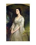 Portrait of Marie De Bonneval, Duchess of Cadore, 1854 Giclee Print by Edouard Louis Dubufe