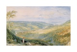 Gibside, County Durham from the South Giclee Print by Joseph Mallord William Turner