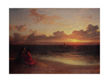 Sunset Giclee Print by Francis Danby