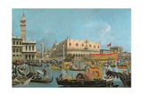 The Bucintoro Returning to the Molo Giclee Print by  Canaletto