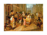 Oak Apple Day, 1812 Giclee Print by Charles Cranmer