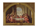 Sketch for 'The Last Supper', St. Mary's, Weymouth, Formerly Attributed to Antonio Verrio… Giclee Print by Sir James Thornhill
