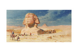 The Sphynx of Giza, 1874 Giclee Print by Carl Haag