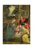 Birth of Christ Giclee Print by Maarten de Vos