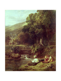 Borrowdale, C.1821 Giclee Print by William Collins