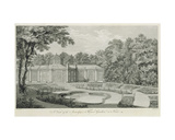 A View of the Aviary and Flower Garden at Kew, from 'Plans, Elevations, Sections and Perspective… Giclee Print by Thomas Sandby