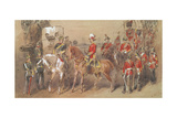 General Sir Garnet Wolseley (1833-1913) at Alexandria, 1882 Giclee Print by Orlando Norie