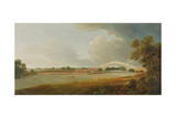 Old Walton Bridge, 1785 Giclee Print by Francis Towne