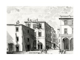 Building Work, Engraved by M. Schedl Giclee Print by Francesco Rostagni