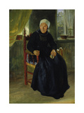 A Woman from Blankenese, 1837 Giclee Print by Jacob Gensler