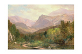 Tuckerman's Ravine and Mount Washington Giclee Print by Samuel Lancaster Gerry