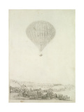 The Montgolfier Brothers, C.1800-08 Giclee Print by Francisco de Goya