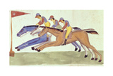 Horse Racing in Bengal, C.1830 Giclee Print